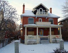 Billy Cowsill's old house in Calgary... has been since resurrected!!