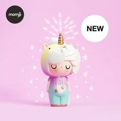✨Little Starlight Girl is back.with new Cotton Candy magic! ✨ The first 750 pieces are Star Edition. They come with a hand-numbered… Momiji Doll, Kokeshi Dolls, Cute Squishies, Biscuit, Cute Toys, Vinyl Toys, Wooden Dolls, Designer Toys, Kawaii Cute