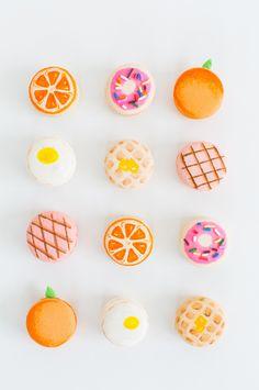 Macarons decorados