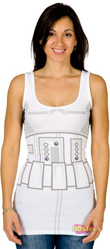 Ladies Storm Trooper Tank Dress
