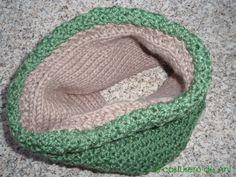 Tutorial cuello reversible de lana
