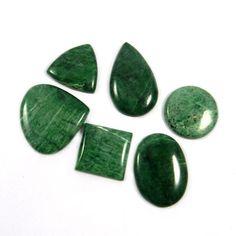6Pcs Latest!!! Quality Natural Maw Sit Sit  Cabochon Jewelry Gemstone GS00992 #shining_gems #Mawsitsit #jewelrygemstone #gemstones
