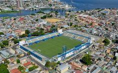 COT Ismael Benigno - Projeto de reforma do Estádio Ismael Benigno, desenvolvido em coautoria com o escritório Architech, para sediar treinamentos da Copa do Mundo no Brasil, seguindo as diretrizes da FIFA. Após a reforma, o estádio conta com 10.455 lugares. Manaus, AM - Baré Arquitetura