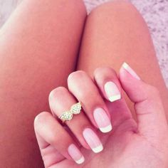 French manicure★ The one style I WILL pay to get done.