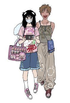 Cute Art Styles, Cartoon Art Styles, Animes Yandere, Arte Sketchbook, Dibujos Cute, Funky Art, Art Reference Poses, Pretty Art, Character Design Inspiration