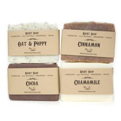SOAP GIFT SET  All Natural soaps, Vegan Soap by RightSoap, $20.00