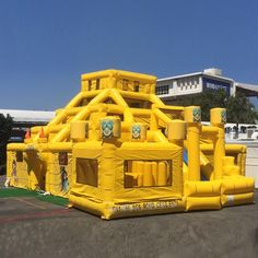 New Mayan Maze Adventure multi-level Maze, Slide, Obstacle Bouncy Combo