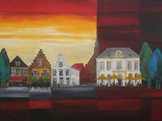 Markt, Steenwijk, Gerrit Jansen