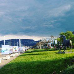 Outdoor museum in Geneva