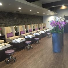 Stella pedicure chairs installed in Gloss.y Nail Salon!