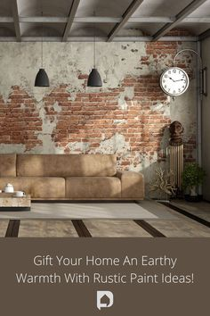 Give your modern home a rustic makeover with these rustic paint color ideas for your home that suit your style ! Give it a read now! //rustic paint //paint ideas //home ideas //colour ideas