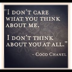 I completely admit to a fascination with the fabulous Coco Chanel.