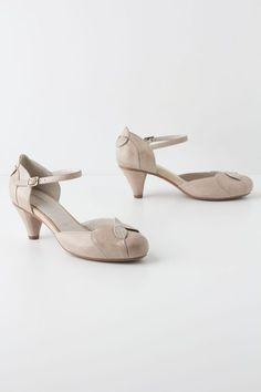 Folded Petals Maryjanes - Lyst