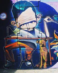 Esta fue la ultima foto que capte con él que era mi Samsung Note 4.  #graffiti #urbanocity #arturbain #arteurbano #bogota
