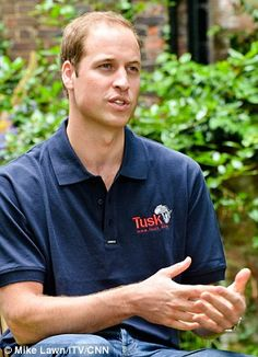 Prince William giving an interview for Tusk Trust, where he also spoke about his young son