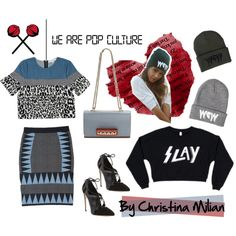 Show us how you'd style Christina Milian's new line, We Are Pop Culture, for a chance to meet her in person! http://polyv.re/christinamilian