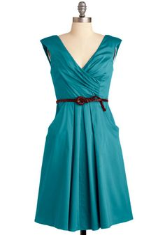 Occasion by Me Dress in Teal.  If only it were a little more blue and less teal