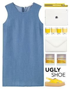 """""""Ugly (But Chic?!) Shoes"""" by dianakhuzatyan ❤ liked on Polyvore featuring MANGO, Drybar, Neiman Marcus and Paul Smith"""