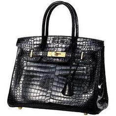 Hermes Vintage Crocodile Birkin Handbag - Hermes handbags ...