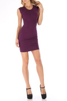 French Connection Elisa Dress In Amethyst - Beyond the Rack