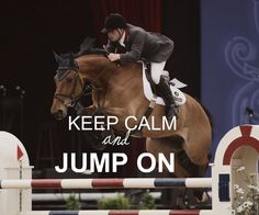 "It'd be better if it said ""Keep calm and jump off"""