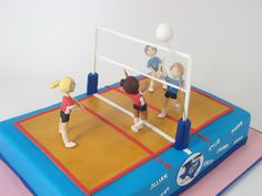 Volleyball cake | Flickr - Photo Sharing!