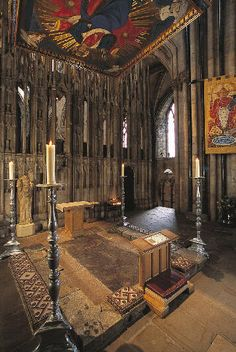 Shrine of St Cuthbert , photo © Durham Cathedral and Jarrold Publishing