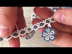Beaded Bracelet Patterns, Beading Patterns, Beaded Bracelets, Embroidery Bracelets, Macrame Patterns, Handmade Wire, Handmade Bracelets, Handmade Jewelry, Handmade Rings