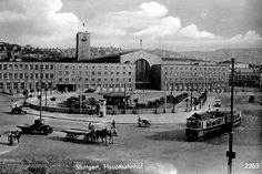 Stuttgarter Hauptbahnhof 1920er