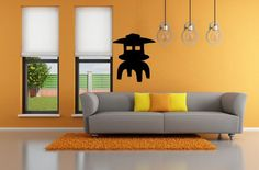 Decorate your home with beautiful and affordable vinyl decals for your walls. It is the newest home decor trend. Its easy to apply and really