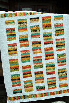 PDF Quilt Pattern ...Quick and Easy ...Layer Cake or by sweetjane