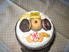 Criações Artesanais: Vidro em Biscuit: Bolacha