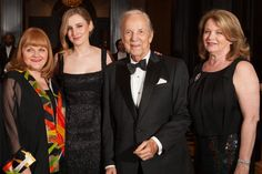 """""""Downton Abbey"""" stars Lesley Nicol and Laura Carmichael join Conrad Prebys and Debbie Turner at the KPBS gala at the ..."""