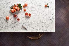 Inspired by classic natural marbles with a clean white base and dense dark grey interwoven veins - White Attica™ 5143 from the Caesarstone Supernatural Range Quartz Countertops, Kitchen Countertops, Kitchen Cabinets, Resort Style, Color Pallets, Color Trends, Interior Styling, Interior Design, Color Mixing