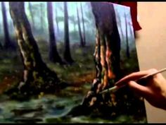 How To Paint Water and Reflections - Examples and Explanation by Artist Brandon Schaefer - YouTube