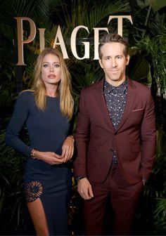 Doutzen Kroes  Ryan Reynolds - Piaget Dinner