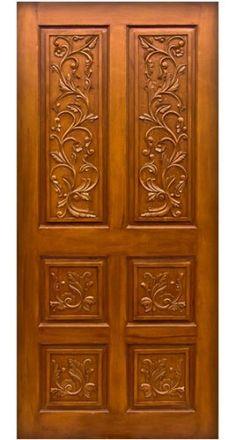 Wood Door Design Designer Teak Wood Doors at Rs 10000 /piece Door Design Photos, Home Door Design, Pooja Room Door Design, Bedroom Door Design, Bedroom Doors, Wooden Front Door Design, Wooden Double Doors, Double Door Design, Wooden Front Doors