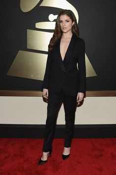 The 57th Annual GRAMMY Awards - Red Carpet - Celebrity Fashion Trends