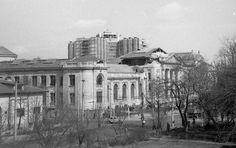 Mai jos va prezentam un cadru cu Facultatea de Medicina Umana afectata de cutremurul din data de 4 Martie 1977. Spitalul Municipal care se afla in constructie la acea data sufera pagube importante.  Sursa pozei aici 4 Martie, Mai, Medicine