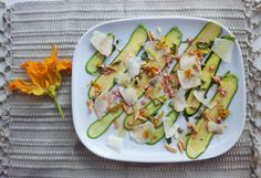 Shaved Zucchini Salad  Photo by: Anna Buss Recipe by: Mario Hernandez