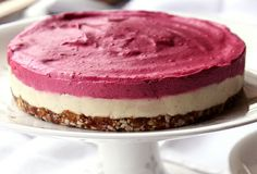 Raw Food Raspberry Cake