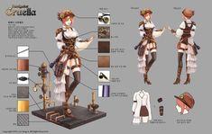 GGSCHOOL, Artist 이상아, Student Portfolio for game, 2D Character Concept Art, www.ggschool.co.kr 2d Character, Character Concept, Concept Art, Game, Movies, Movie Posters, Conceptual Art, Films, Film Poster