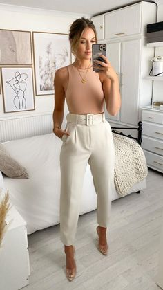 Business Casual Outfits, Professional Outfits, Cute Casual Outfits, Stylish Outfits, Summer Outfits, Office Outfits Women, Work Fashion, Fashion Looks, Fashion Outfits