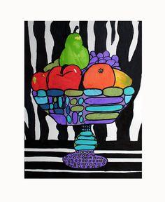 Lichtenstein fruit bowl
