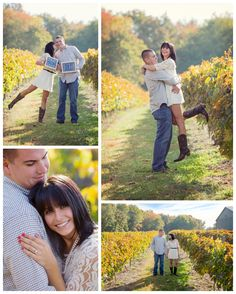 winery engagement pics | ... Valenzano Winery Engagement Session | South Jersey Wedding Photography