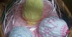 Finally, something sewing related!   Here are the instructions and smocking plates.     Smocked Easter Egg directions         Pl...