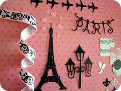 Scrap Tia Mi: Processo Criativo: Kit Paris Je T'aime