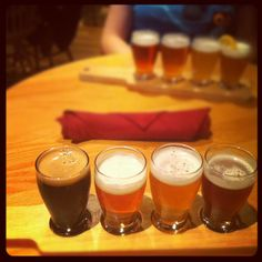 Peter B's is a short walk from campus and the only local brewpub that brews their own beer!
