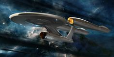 Concept art for the JJ Enterprise, from ryanchurch.com