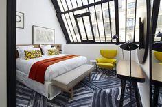 L'Hôtel du Ministère'Living Corriere SPIRITO FRANCESE Gli interni dell'albergo sono definiti 'spazi romantici con un'estetica industriale da Torre Eiffel'. Dove: 31 rue de Surene, Parigi ministerehotel.com